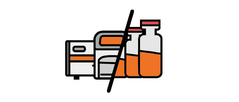 Ten PCR devices & any assay