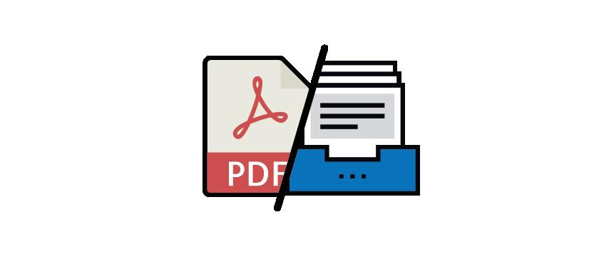 Export PDFs & digital archive