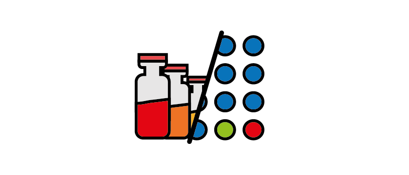 Select PCR assays & automatic plate set up