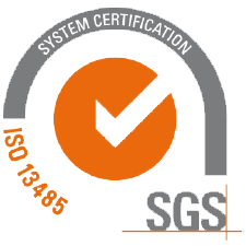 ISO 13485 Certified SGS